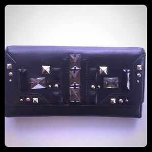 Juicy Couture black leather wallet
